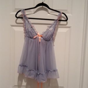 Victoria's Secret purple lingerie size medium